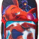 Disney Boys' Big Hero 6 Backpack With Lunch Kit, Multi, One Size
