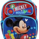 Disney Mickey Mouse M28 12 Toddler Backpack-A07647