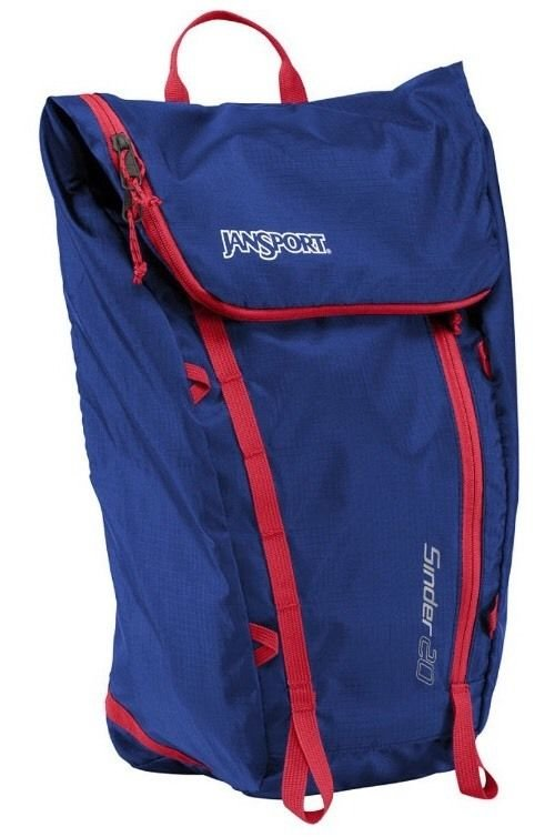 "JanSport Sinder 20 Backpack - Blue Streak / 18.3""H x 11.4""W x 5.9""D"