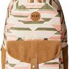 Roxy Junior's Caribbean Poly Backpack, Desert Point Blueprint, One Size