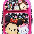 Disney Tsum Tsum 16 Inches Girls Backpack - BRAND NEW LICENSED