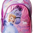 Disney Girl's Sofia The First And Horse Backpack, Purple, One Size