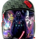 Disney Star Wars Darth Vader Full Size Backpack With Two Side Mesh Pockets
