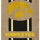 NCAA Vertical Flag Size: 43 H X 29 W, NCAA Team: Iowa