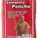 Emergency Poncho, Emergency Rain Gear, Weather Protection, Emergency Zone ®
