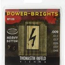 Thomastik-Infeld RP109 Electric Guitar Strings: Power-Brights 6 String Heavy E,