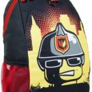 LEGO Heritage Basic Backpack City Fire Helmet, Black, One Size