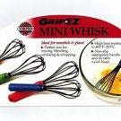 Norpro Grip-Ez Mini Whisk Drink Stirrer Frother Batter Mixer - Choose 1 Color