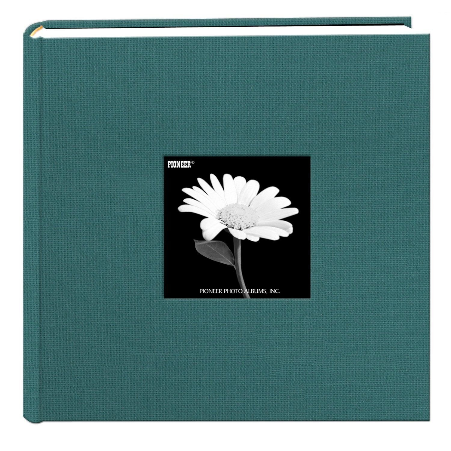 Pioneer 200 Pocket Fabric Frame Cover Photo Album, Majestic Teal [Kitchen]
