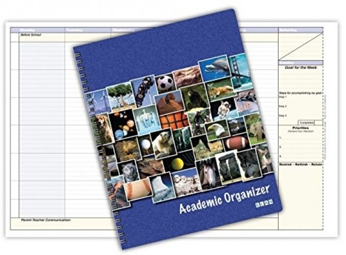 Student Academic Organizer 8 1/2 X 11 Weekly View (AOTAP-Undated)