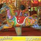 Merry Go Round - Puzzlebug 300 Pc Jigsaw Puzzle + Free Bonus 2015 Magnetic Cale