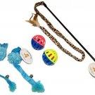 Everlast Pet Toys | Best Teaser - Mouse - Bell Toy Bundle For Cats | Leopard |