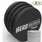 Herb Grinder Original and FREE Stash Container Set - Best Grinders For Herbs -