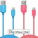 Lightning Cable, Apple Certified IOrange-E?2 Pack Of IPhone Charger Cable USB