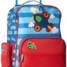 Stephen Joseph Little Boys' Rolling Luggage, Blue Airplane, One Size