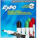 Expo Original Dry Erase Markers, Bullet Tip, 8-Pack, Assorted Colors