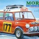 Tamiya 1/24 Morris Mini Cooper 1275S Rally '67 Monte Carlo winning car