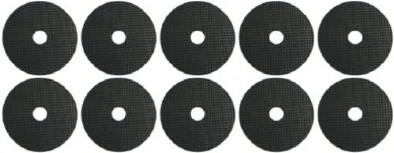 Stick-on 10 X 45mm Self-Adhesive Rubber Washer 3/8 Ideal For Tripod / Camera