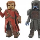 Guardians Of The Galaxy Minimates Series 57 Mini Figure 2-Pack Star-Lord and