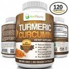 Turmeric Curcumin With BioPerine® (Black Pepper) - 1000mg Per Serving (120 | |