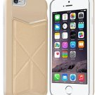 IPhone 6 6S Case, IKare [KICK STAND] Wallet Case With Card Holder Dual Layer ),