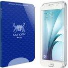 Galaxy S6 Screen Protector (White Full Coverage), Skinomi® Tech Glass Screen