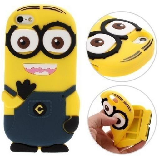 ML® Cute Cartoons 3D Silicone Case Back Cover Skin For IPhone 6, 4.7-inch Two