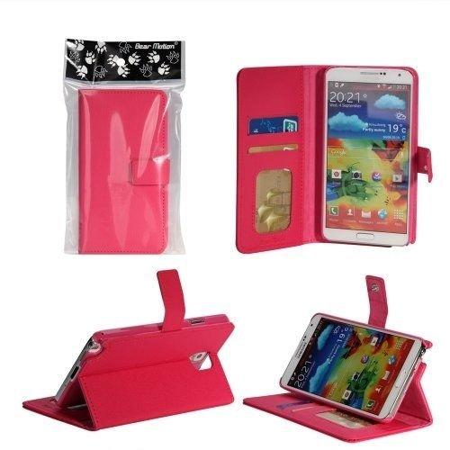 Bear Motion (TM) Premium Folio Case For Samsung Galaxy S4 SIV S IV I9500 Smart