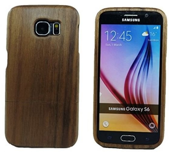 Unique Eco-Friendly 100% Hand-made Real Natural Walnut Wood Hard Shell Case For