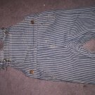 pine stripped infant overalls