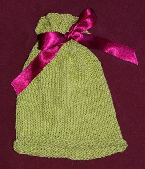 Rolled-Edge Baby Hat