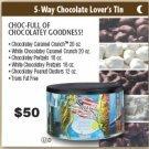 5 Way Chocolate Lovers Tin