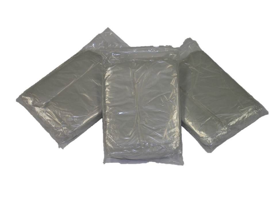 Clear Emergency Disposable Polyethylene Poncho .02 MM Case of 200