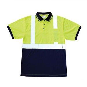 Class 2 Hi Vis Short Sleeve Polo shirt-XL