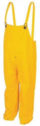 .35 mm PVC/Polyester Yellow Rain Bib
