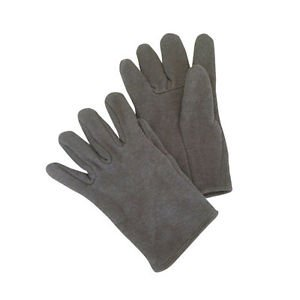 Red Lined Brown Jersey Glove, Sold by the Dozen