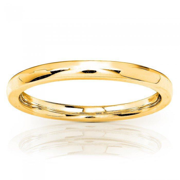 14K YELLOW GOLD WEDDING BAND (1.7MM)