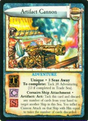 Artifact Cannon - Rare - Strange Vistas