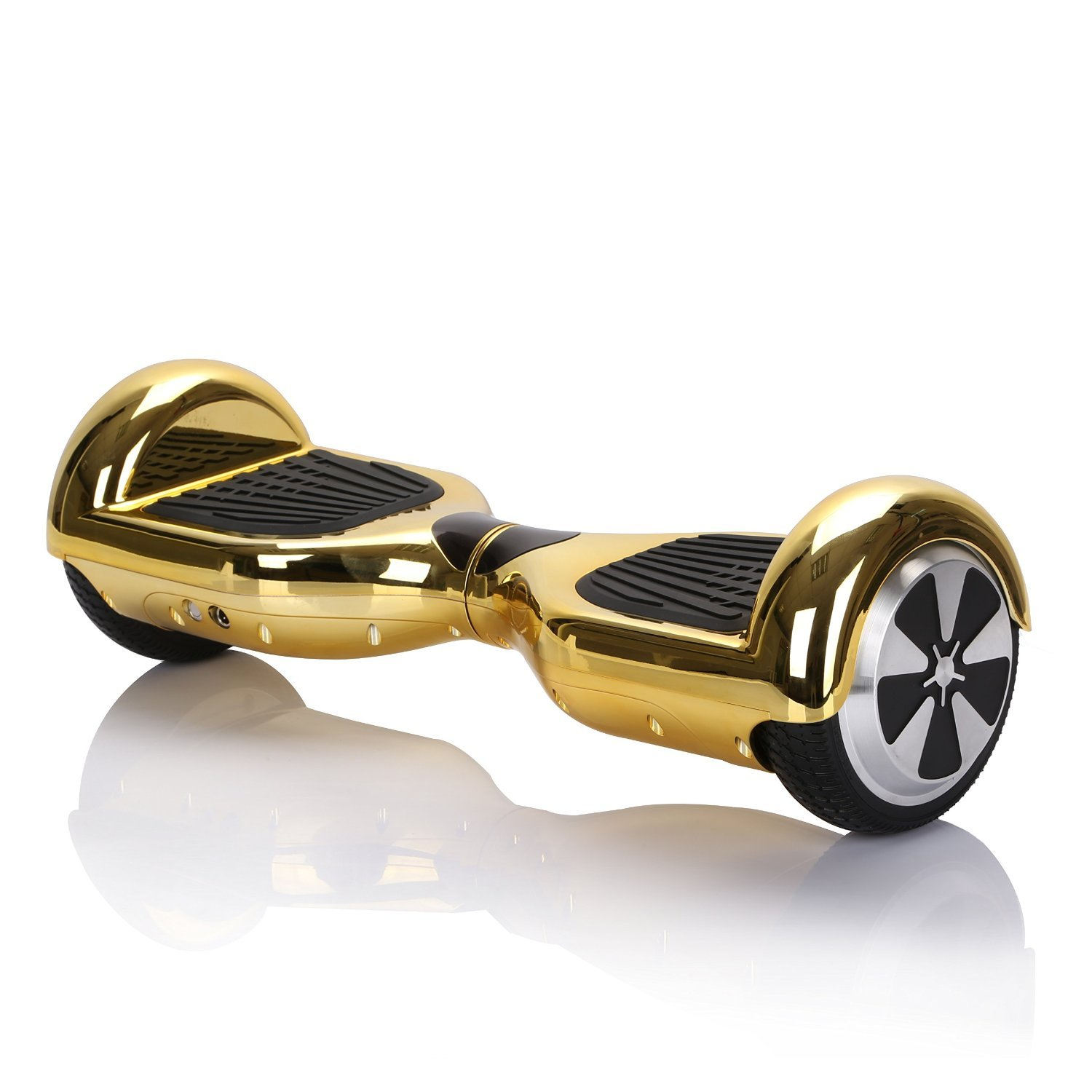 6.5 Inch Hoverboard Self Balancing Scooter Oxboard Chrome Gold