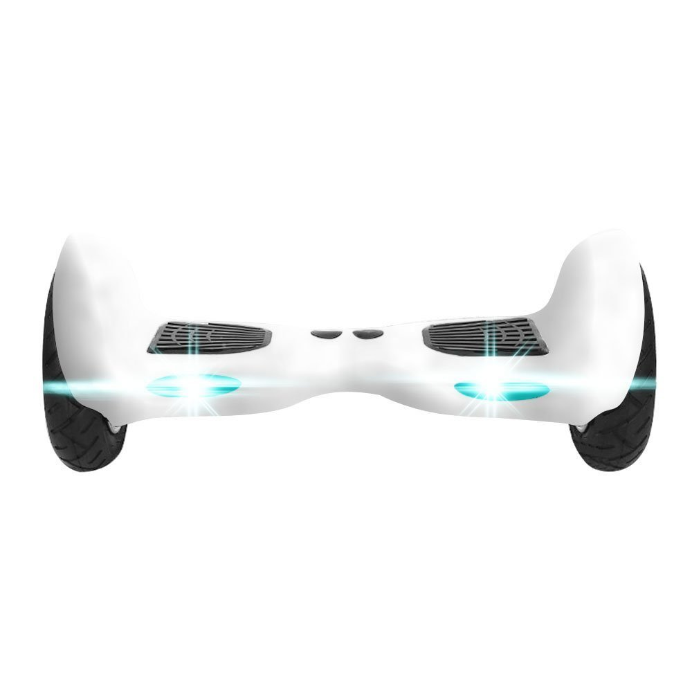 10 Inch Hoverboard Self Balancing Scooter Oxboard White