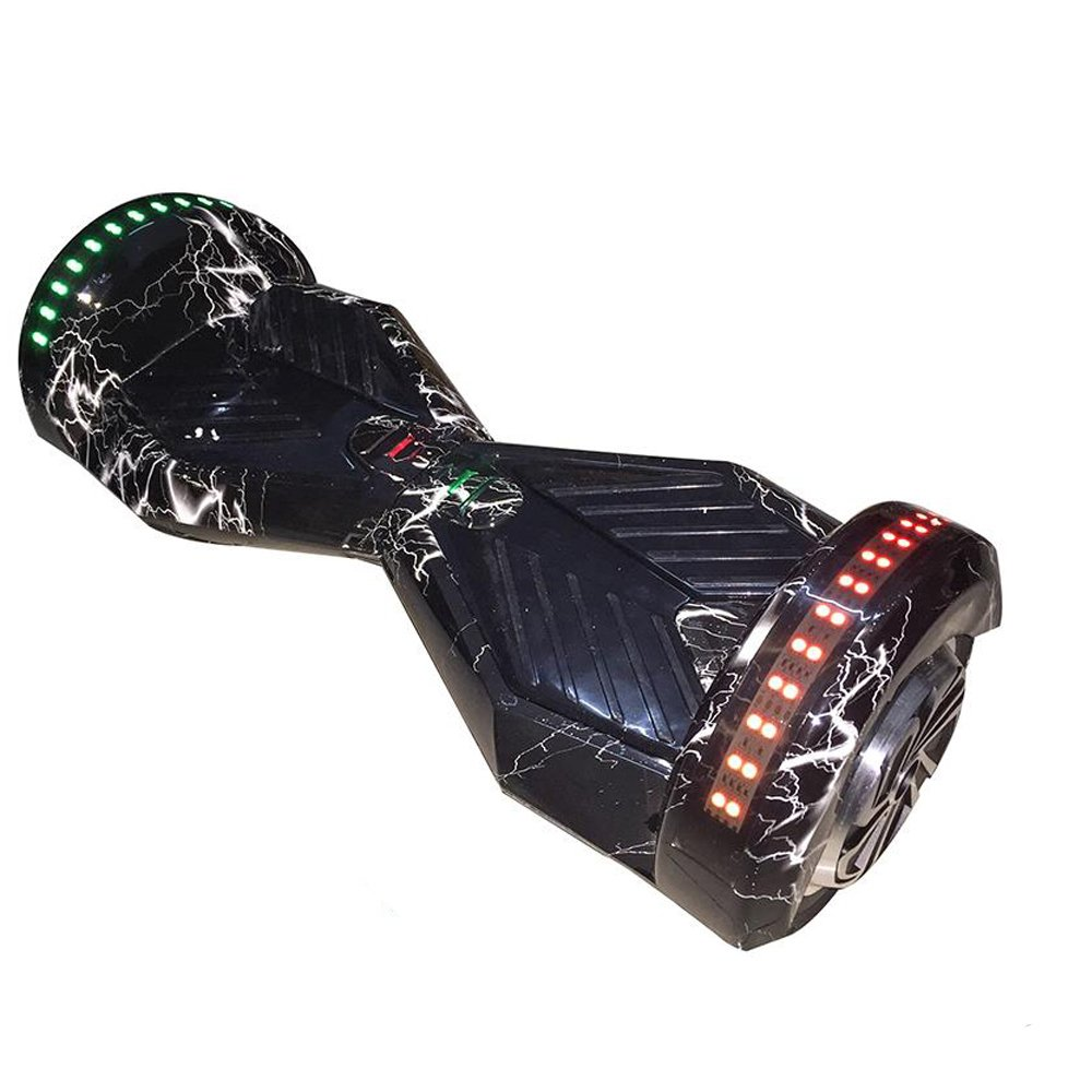 8 Inch Bluetooth Hoverboard Self Balancing Scooter Oxboard Black Flash