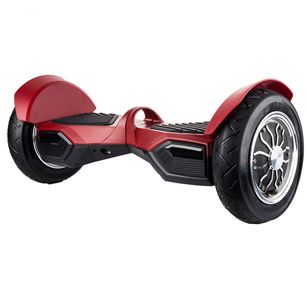10 Inch Portable Hoverboard Self Balancing Scooter Red