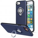 360 Degree Rotating Ring Grip Case for iPhone 7 Blue