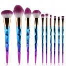 10PCS Make Up Foundation Eyebrow Eyeliner Blush Cosmetic Concealer Brushes