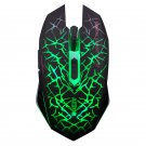 2.4Ghz Wireless Optical Gaming Mouse with USB Receiver Green