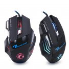 Wired Gaming Mouse 7 Button 5500 DPI LED Optical USB Gaming for Computer