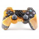 Bluetooth Wireless Controller for PS3 Double Shock Snake skin