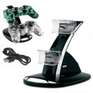 Dual USB Charger Charging Station Dock Stand For PS3 Controller