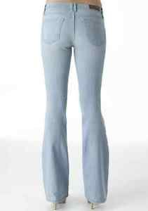 Truck Desert Light Wash Stretch Flare Jeans 15 x 37 inseam Tall Jr Plus