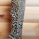 Padma Leopard Platform Thigh high over the knee Boots